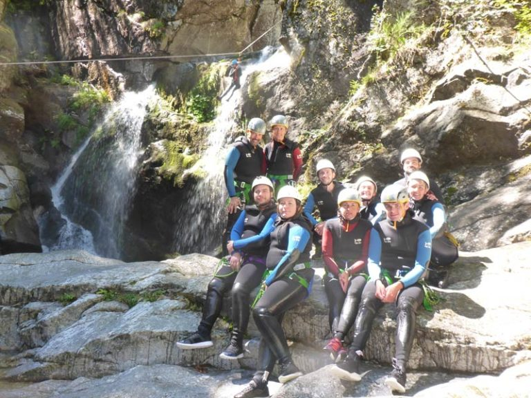 Via Ferrata canyoning escalade